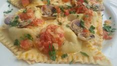 Ravioli di mare con amore, la ricetta della domenica - L'Abruzzo è servito   Quotidiano di ricette e notizie d'AbruzzoL'Abruzzo è servito   Quotidiano di ricette e notizie d'Abruzzo
