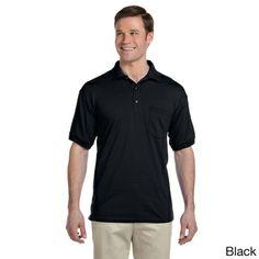 Gildan Men's Dry Blend Jersey Polo Shirt