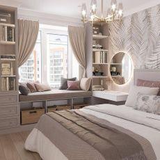 Bedroom Decor For Teen Girls, Girl Bedroom Designs, Room Ideas Bedroom, Small Room Bedroom, Home Decor Bedroom, Bedroom Furniture, Master Bedroom, Small Bedrooms, Guest Bedrooms