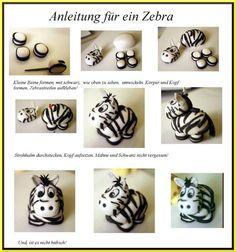 Anleitung für ein Zebra
