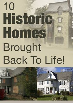 10 inspiring historic historic home brought back to life!