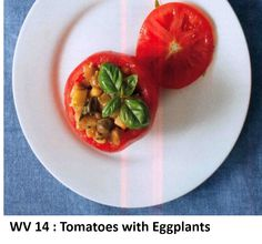 Tomatoes with Eggplants
