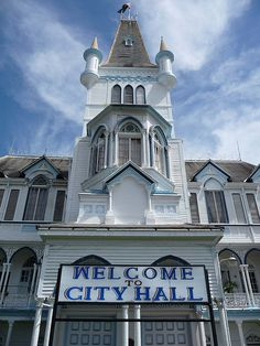 City Hall in Guyana. We love how wood dominates the architecture in the city.