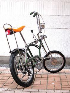 Rat rod chopper bicycle
