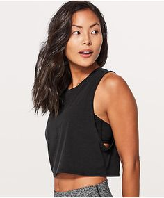 Looking for the perfect yoga or running tank? Our tank tops for women are designed with all body shapes in mind. Cropped Tank Top, Crop Tank, Running Tanks, Muscle Tanks, Running Women, Body Shapes, Dance Wear, Lululemon Athletica, Athletic Tank Tops