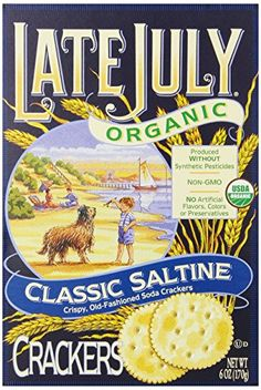 Late July Organic Round Saltine Crackers 6Ounce Boxes Pack of 12 *** You can get more details by clicking on the image.Note:It is affiliate link to Amazon. #beach