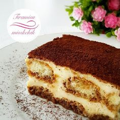Miss Kekik: Cat tongue tiramisu Turkish Recipes, Italian Recipes, Ethnic Recipes, Mousse Au Chocolat Torte, Pudding Cake, Cute Food, Cheesecake Recipes, Cake Cookies, Afternoon Tea