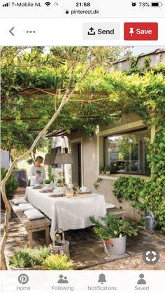 Backyard patio - 44 backyard porch ideas on a budget patio makeover outdoor spaces 31 Outdoor Rooms, Outdoor Dining, Outdoor Gardens, Dining Area, Indoor Outdoor, Dining Room, Outdoor Balcony, Balcony Railing, Backyard Patio