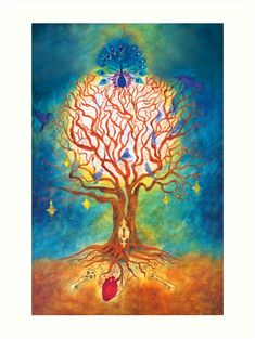 """""""Tree of life"""" Metal Print by RiaRademeyer Tree Of Life Art, Colour Images, Sell Your Art, Spirit Animal, Print Design, Vibrant Colors, Moose Art, Texture, Art Prints"""