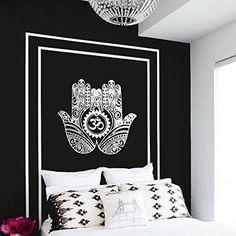 Wall Decal Vinyl Sticker Decals Art Decor Design Hamsa Hand Om Lotus indian Buddha Ganesh Modern Bedroom Dorm Office Mural (r1127) CreativeWallDecals http://www.amazon.com/dp/B00MWMEUFK/ref=cm_sw_r_pi_dp_Jkcnvb0ZAQSR2