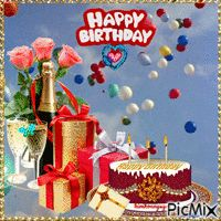 See the PicMix Happy birthday belonging to kimhoanguyen on PicMix. Happy Birthday Gif Images, Animated Happy Birthday Wishes, Happy Birthday Greetings Friends, Happy Birthday Wishes Images, Happy Birthday Celebration, Happy Birthday Fun, Happy Birthday Balloons, Birthday Gifs, Birthday Quotes