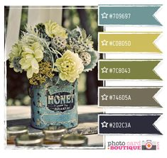 Love love love these colors. Wedding, home, everything!