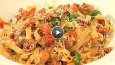Tagliatelle bolognese - Recept | 24Kitchen