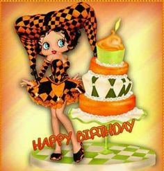 Birthday Images, Birthday Quotes, Birthday Wishes, Betty Boop Birthday, Happy 2nd Birthday, Birthday Emoticons, Birthday Board, Party Shop, Special Characters