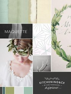 Branding mood board by Observant Nomad | How to create a mood board for your…