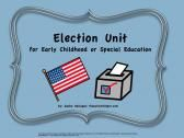 Election Unit for Early Childhood or Children with Special Needs! product from The-Autism-Helper on TeachersNotebook.com