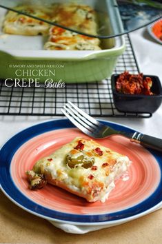 Chicken Crepe Bake Chicken Crepes, Baked Chicken, Amish Recipes, Dutch Recipes, Cooking Cream, Savory Crepes, Cream Cheese Spreads, Kids Menu, Best Dishes