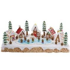 How to create a Gingerbread Village.