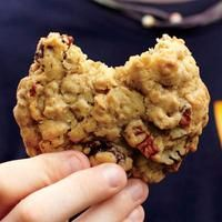 Cherry-pecan oatmeal cookies.  So good!