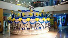 La tarta más grande de Canarias y de España?