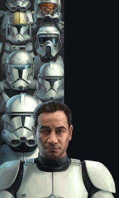 Evolution of the trooper.