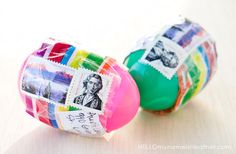 Who knew...you can mail Easter eggs just like this!