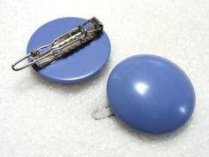 Simply Elegant Vintage Barrette in Periwinkle! Only $4 each! Find them in Hair Accessories at thenchantedforest.ca Barrette, Periwinkle, Enchanted, Hair Accessories, Stud Earrings, Elegant, Gifts, Shopping, Vintage