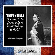 #napoleon #selfreliance #success #coaching #coachcoreywayne #confidence #quote #motivationalquote #relationships #women #sex #dating #attraction #love #seduction #communication #getexback #relationshiphelp #dreams #goals #marriage #greatquotes
