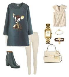 """""""Untitled #96"""" by roro92 on Polyvore featuring River Island, Calvin Klein, Michael Kors, Tory Burch and Alexis Bittar"""
