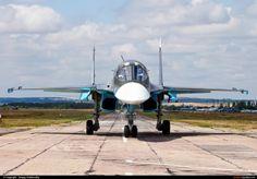 Russia - Air Force-Su-34(28 RED) By Sergey Chaikovskiy(SergeyL)