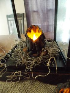 Primitive Witchy Salem Tavern Waxless LED Flickering by Primigram, $12.00