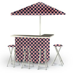 Best of Times Check Me Out Portable Deluxe Bar