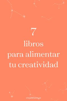 7 libros para alimentar tu creatividad Good Books, Books To Read, Curious Facts, Book Study, Lus, Life Motivation, Book Recommendations, Book Lists, Book Design