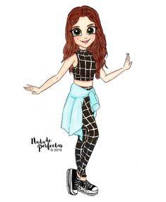 skirt not pants Best Friend Drawings, Bff Drawings, Cute Easy Drawings, Disney Drawings, Kawaii Girl Drawings, Cute Girl Drawing, Mode Poster, Dibujos Cute, Son Luna