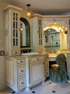 Custom Master Bath And Bath Cabinets  Bathroom Remodel Interesting Bathroom Remodeling Richmond Va Design Inspiration