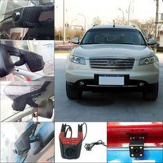 97.88$  Buy here - http://alisy5.worldwells.pw/go.php?t=32788151668 - For Infiniti FX45 FX35 2007 APP Control Car Wifi DVR Dual lens Dash Cam Car Black Box Camcorder hidden installation