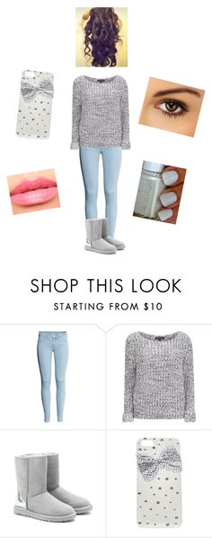 """Untitled #349"" by starcommings ❤ liked on Polyvore featuring H&M, Brave Soul, UGG Australia, Laura Mercier and Wet Seal"