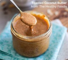 toasted coconut butter - coconut butter uses