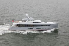 Dutch yacht M/Y Delta One by Mulder Shipyard completes sea trials