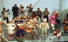 Russian spun cotton ornaments.