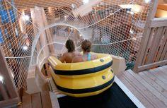 Cedar Point's indoor waterpark Castaway Bay in Sandusky, Ohio.