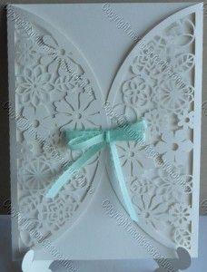 Folded flower card - Monica's Creative Room