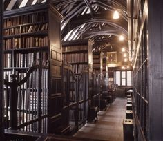 Chetham's Library in Manchester, England was founded in 1653 and is the oldest public library in the English-speaking world.