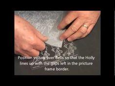 PCA Parchment Craft: TP3220E Christmas WinterScene in Frame  http://www.perfectparchmentcraft.com/shop/parchcraft-australia-pca/