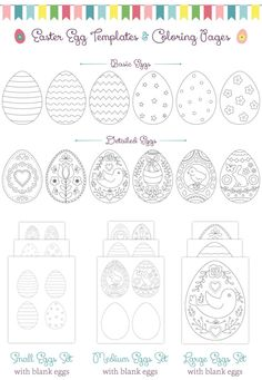 small easter egg template.html