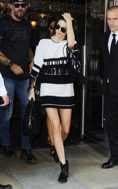 #KendallJenner #Fashion #Blackandwhite
