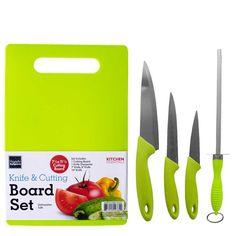 Knife & Cutting Board Set