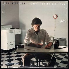 """I Can't Stand Still"" is the debut studio solo album by Don Henley, drummer and a lead vocalist for the Eagles. The album achieved gold status, and peaked at #24 on in the US charts, the album also featured three singles, including the huge hit ""Dirty Laundry"" (#3 Hot 100, #12 Mainstream Rock), the title track(#48 Hot 100) and the controversial track, Johnny Can't Read (#42 Hot 100, #29 Mainstream Rock) a criticism of the educational system of America at that time. (Vinyl LP)"