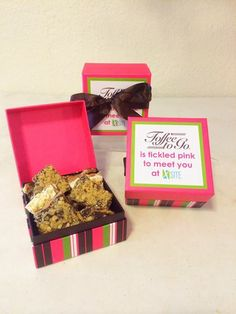 """A """"sweet"""" way to market your company before a big tradeshow or convention"""