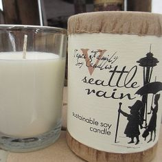 Open Sky EXCLUSIVE Seattle Rain Soy Candle